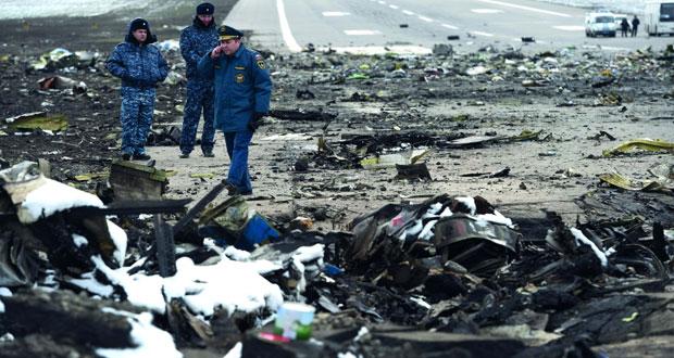 (فلاي دبي): المحققون يحلون مكان عناصر الإغاثة في موقع التحطم