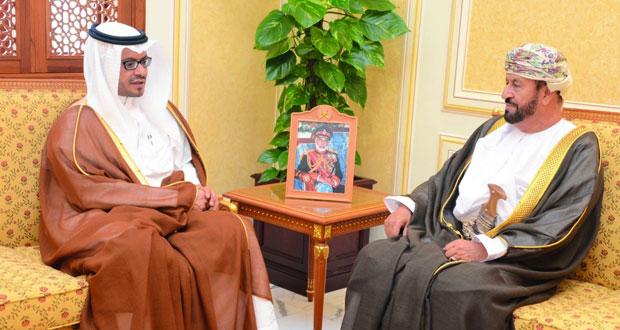 الوزير المسؤول عن شؤون الدفاع يستقبل سفير المملكة العربية السعودية