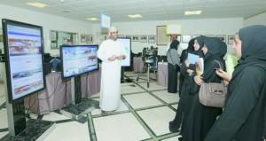 """""""الوطني للإحصاء والمعلومات"""" يشارك في المعرض العلمي الثالث"""
