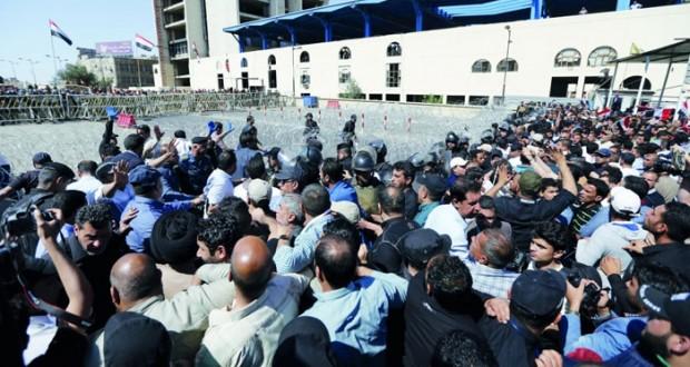 العراق : استنفار أمني وسط بغداد مع بدء اعتصام التيار الصدري