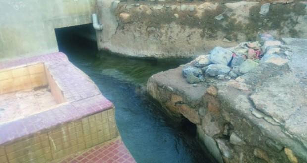 ارتفاع مناسيب مياه الأفلاج