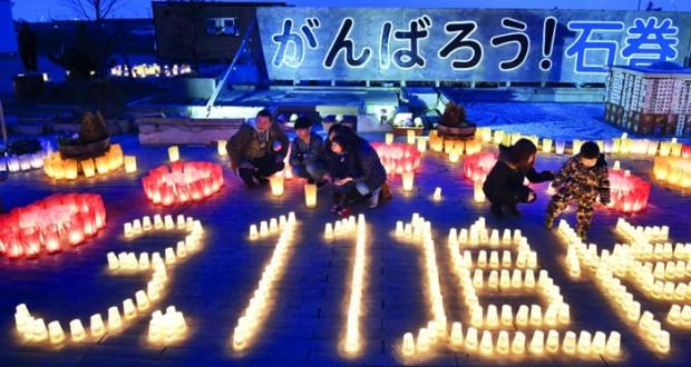 اليابان تلتزم الصمت في الذكرى الخامسة لـ(وتسونامي)