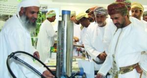افتتاح المعرض المائي بمحافظة جنوب الباطنة