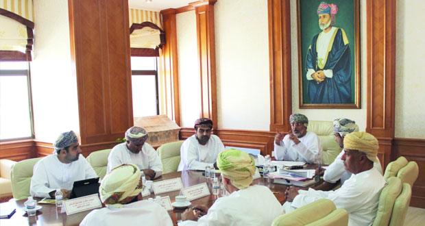 اجتماع اللجنة الفنية المعنية بالآلية المرحلية للتخطيط العمراني