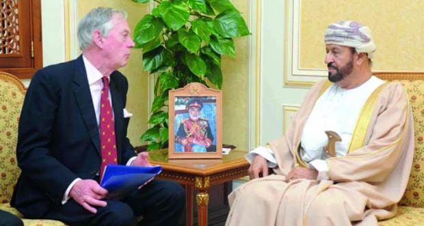 الوزير المسؤول عن شؤون الدفاع يستقبل مستشار وزير الدفاع البريطاني