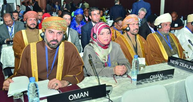 السلطنة تشارك في أعمال المؤتمرالبرلماني الدولي (134) بزامبيا