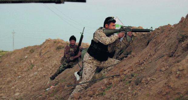 القوات العراقية تحرر عشرات العائلات من قبضة «داعش» فـي عملية«أمن الجزيرة»