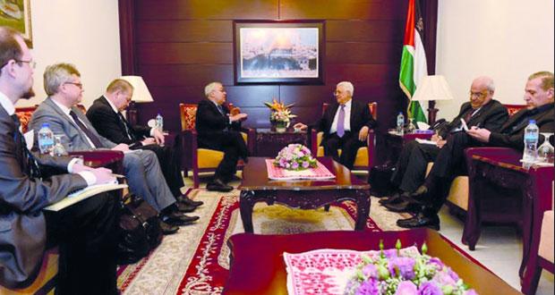 عباس: جهود فلسطينية متسارعة لعقد مؤتمر دولي لإنهاء الاحتلال