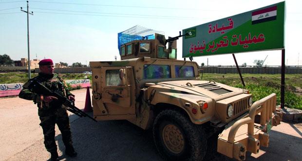 القوات العراقية تصد هجوما لـ (داعش) بكركوك وتقتل 23 إرهابيا