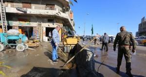 العراق : هجوم إرهابي يسقط قتلى وجرحى وسط بغداد