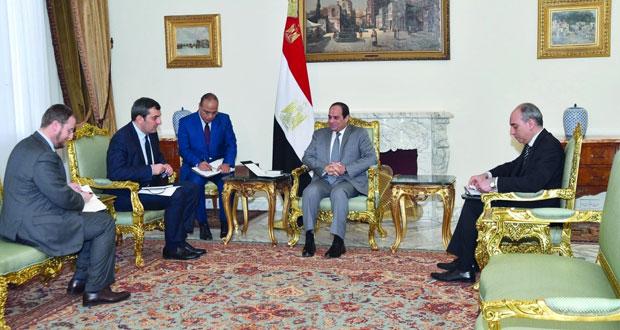 مصر: السيسي يتعهد بتحديد ومعاقبة قتلة الطالب الإيطالي