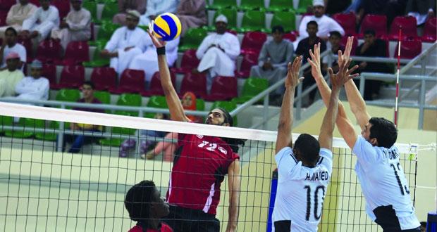 افتتاح جميل لبطولة الأندية الخليجية لأبطال الكرة الطائرة الـ 35