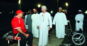 رئيس وأعضاء مجلس الشورى يزورون الفرق الرياضية لذوي الإعاقة بمجمع ببوشر