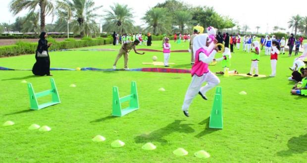 قريات تحتضن المهرجان الأول لرياضات ألعاب القوى للأطفال