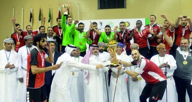 الريان يتوج بلقب البطولة بفارق هدف على حساب مضر السعودي والجزيرة ثالثا