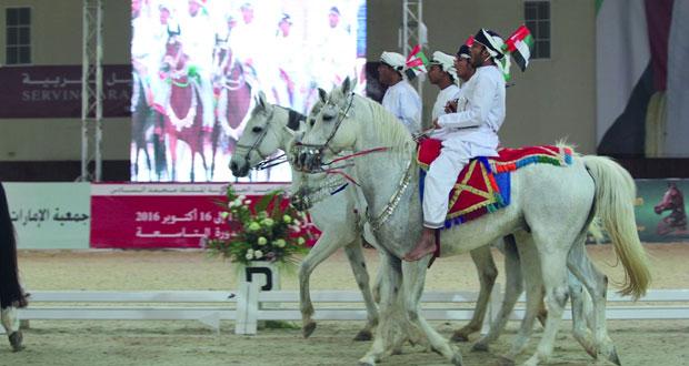 إثارة كبيرة تشهدها بطولة سلطان بن زايد لالتقاط الأوتاد الدولية بأبوظبي