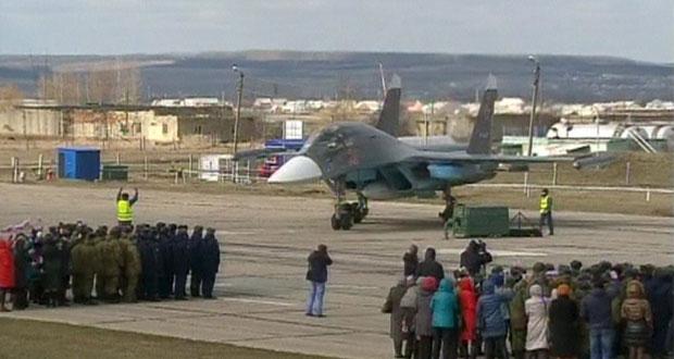 سوريا: الطيران الروسي بين العودة ودعم تقدم الجيش بتدمر