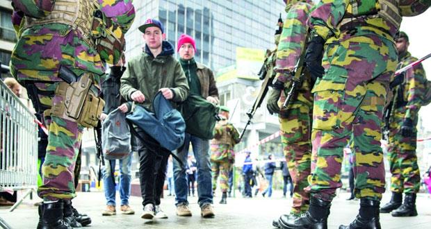 بلجيكا تعلن هوية منفذي الأعمال الإرهابية وإسرائيل تستغل الأحداث وتحرض ضد المسلمين