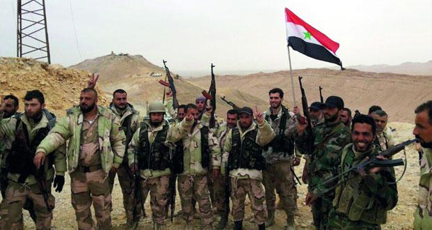 الجيش السوري يستعيد مزيدا من مناطق تدمر ويخوض قتالا عنيفا بالمداخل