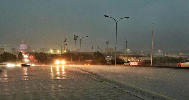اشتداد بغزارة الأمطار وازدياد بمخزونات السدود ..تأثير الأخدود مستمر للجمعة