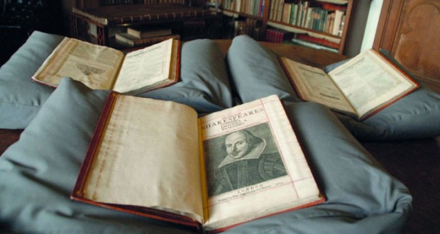 العثور على نسخة نادرة عمرها 400 عام للمجموعة الكاملة لمسرحيات شكسبير
