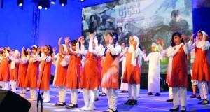 بدء أيام مهرجان مسرح مزون الدولي لمسرح الطفل الثالث ببركاء