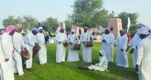 مفردات عمانية متنوعة في أيام الشارقة التراثية الـ14
