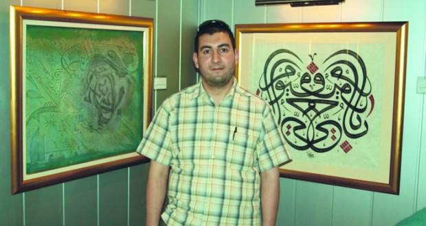 محمد لمين بن تركية.. حكاية عشق مع الحرف العربي