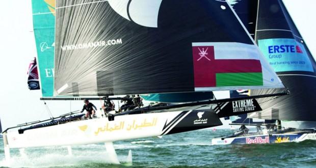 طاقم قارب الطيران العماني يواصل استعداداته بمعنويات عالية للدفاع عن لقبه في الجولة الأولى