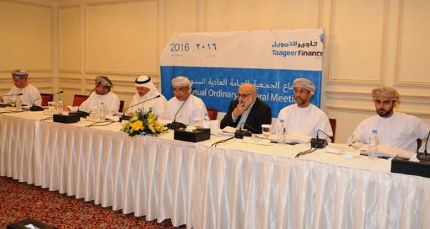"""""""تأجير للتمويل"""" تسجل أرباحا بعد الضرائب 4,421 مليون ريال عماني العام الماضي"""