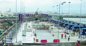 تدشين المحطة الثانية لسحب مياه البحر لأغراض المشاريع الصناعية بميناء صحار