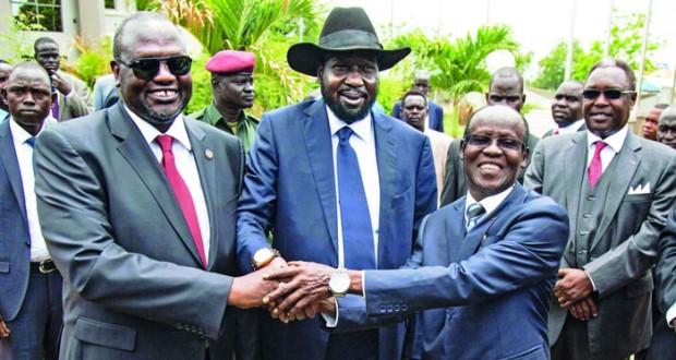 جنوب السودان: كير يشكل حكومته الانتقالية ومشار نائبا