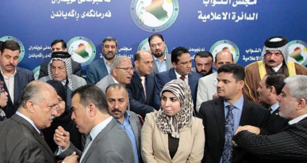 العراق : جلسة طارئة للبرلمان لمناقشة التعديل الوزاري وسط اعتصامات وعراك بالأيدي