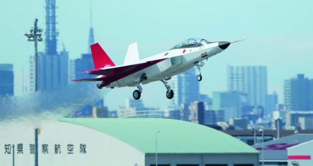 طلعة تجريبية ناجحة لطائرة شبح يابانية