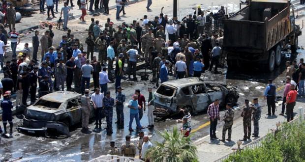 العراق : قتلى وجرحى بهجمات انتحارية بأنحاء متفرقة .. تقدم للقوات في قضاء مخمور