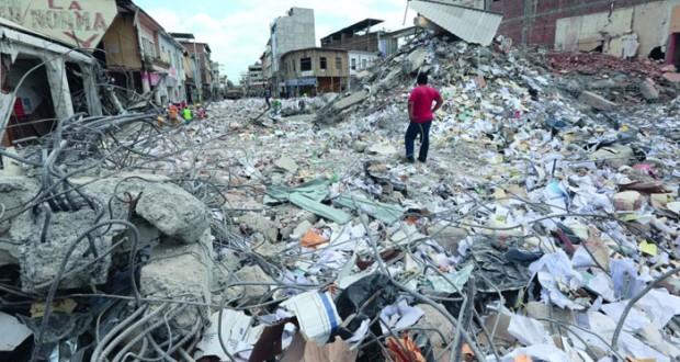 زلزال الإكوادور: مئات القتلى والمفقودين وإجراءات اقتصادية مشددة لمواجهة العواقب