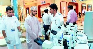 معهد العلوم الصحية ينظم يوماً تعريفياً مفتوحاً لبعض التخصصات