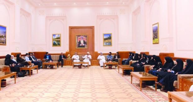 وفد جامعة الشهيد بهشتي الإيرانية يزور مجلس الدولة