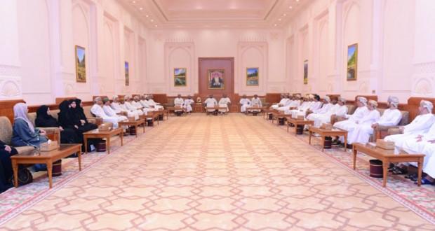 أمين عام مجلس الدولة يستقبل منتسبي الدورة الـ (37) بالمعهد الدبلوماسي