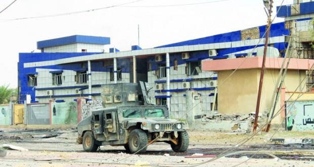 القوات العراقية تطرد الإرهابيين من هيت ومقتل 46 (داعشيا) في غارات جوية