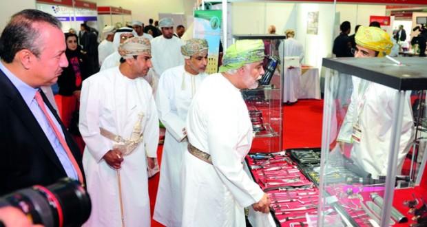 افتتاح المعرض والمؤتمر الدولي للرعاية الطبية والسياحة العلاجية بمركز عمان الدولي للمعارض