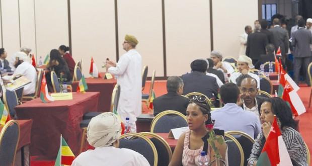 (أوبكس): دعوات لرفع التبادل التجاري بين السلطنة وأثيوبيا