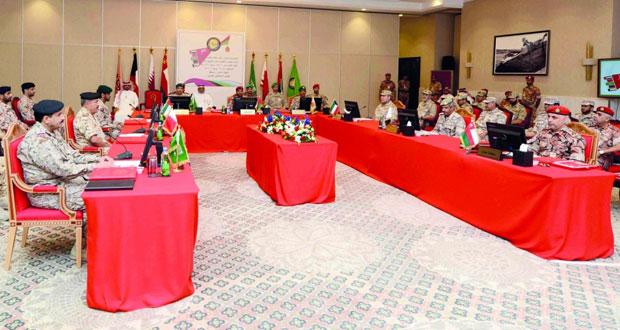 انعقاد الاجتماع السادس عشر لقادة القوات البرية لدول المجلس