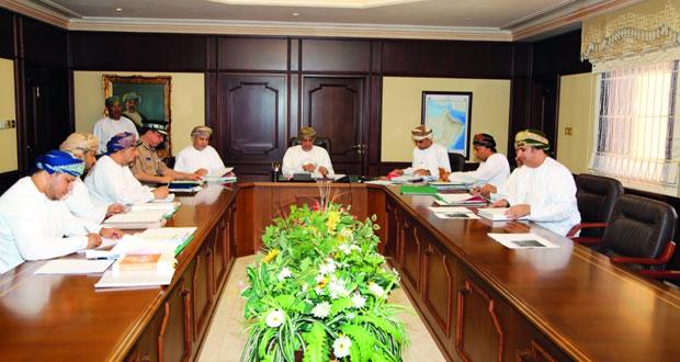 الهيئة العامة للمخازن والاحتياطي الغذائي تعقد اجتماعها الأول لعام 2016
