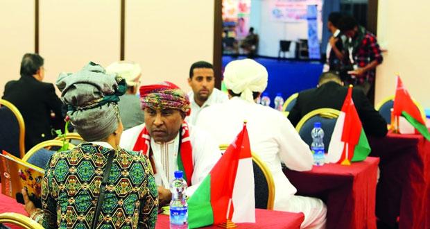 """معرض """"أوبكس"""" يختتم فعالياته غدا وسط إشادة وتفاعل من الزوار ورجال الأعمال الأثيوبيين"""