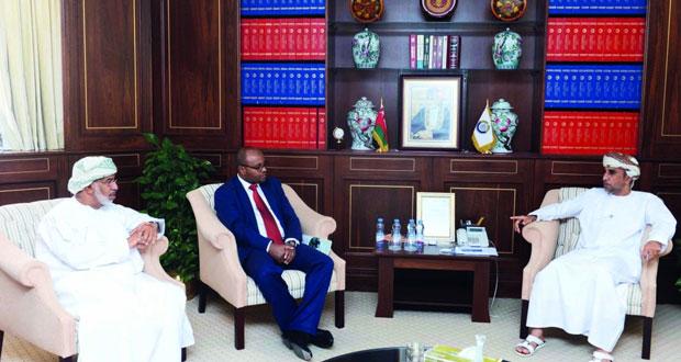 بحث مجالات التعاون الاقتصادي بين السلطنة وأثيوبيا