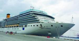 """السفينة """"كوستا لومينوزا"""" تزور ميناء صلالة وعلى متنها 1608 سائحين"""