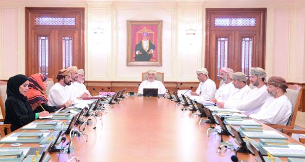مكتب مجلس الدولة يستعرض جدول أعمال الاجتماع المشترك لمكتبي مجلس عمان