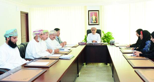 اجتماع اللجنة الفنية لجائزة السلطان قابوس للعمل التطوعي