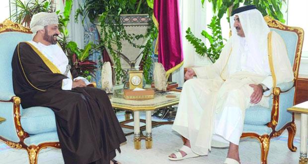 التوقيع على اتفاقية تعاون بين حكومة سلطنة عمان وحكومة دولة قطر في المجال الامني
